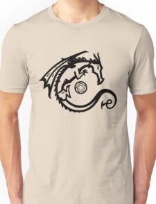 Dragon and Stone (for light t-shirts) Unisex T-Shirt