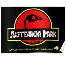 Aotearoa Park (Moa skull) Poster