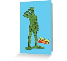 A Real American Hero Greeting Card