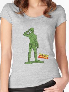A Real American Hero Women's Fitted Scoop T-Shirt