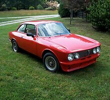 Red 1974 Alfa Romeo 2000 GTV by CadburyKeepsake