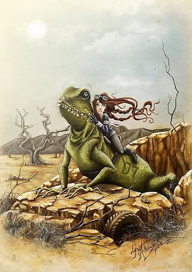 Lizard King by LorenAssisi