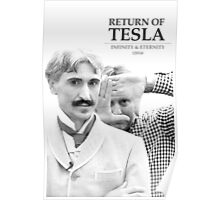 Return of Tesla Poster Image 2 Black/White Poster