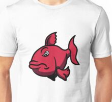 bad bad mood fish Unisex T-Shirt