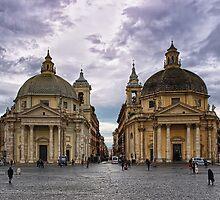 Piazza Del Popolo by Xandru