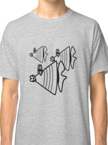 Aquarium swarm fish Classic T-Shirt