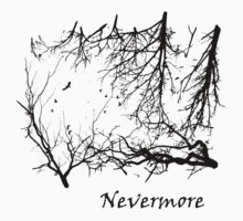 Nevermore (for light t-shirts) by Lyubomir Gizdov