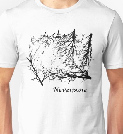 Nevermore (for light t-shirts) Unisex T-Shirt