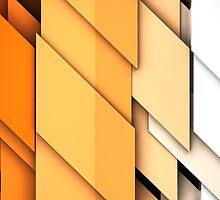geometric shapes background by carloscastilla