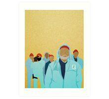 Team Zissou.  Art Print