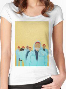 Team Zissou.  Women's Fitted Scoop T-Shirt