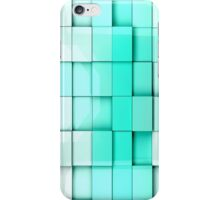 tiles cubes background iPhone Case/Skin