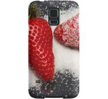 Strawberry with Sugar Samsung Galaxy Case/Skin