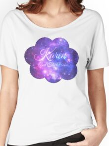 Karen and The Babes (Starry Font) Women's Relaxed Fit T-Shirt