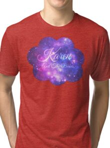 Karen and The Babes (Starry Font) Tri-blend T-Shirt