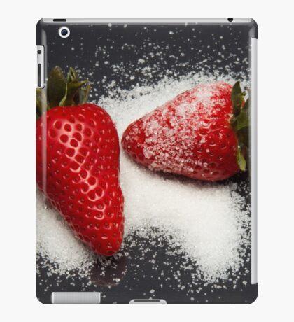 Strawberry with Sugar iPad Case/Skin