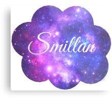 Smillan (White Font) Metal Print