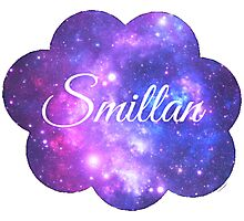 Smillan (White Font) Photographic Print