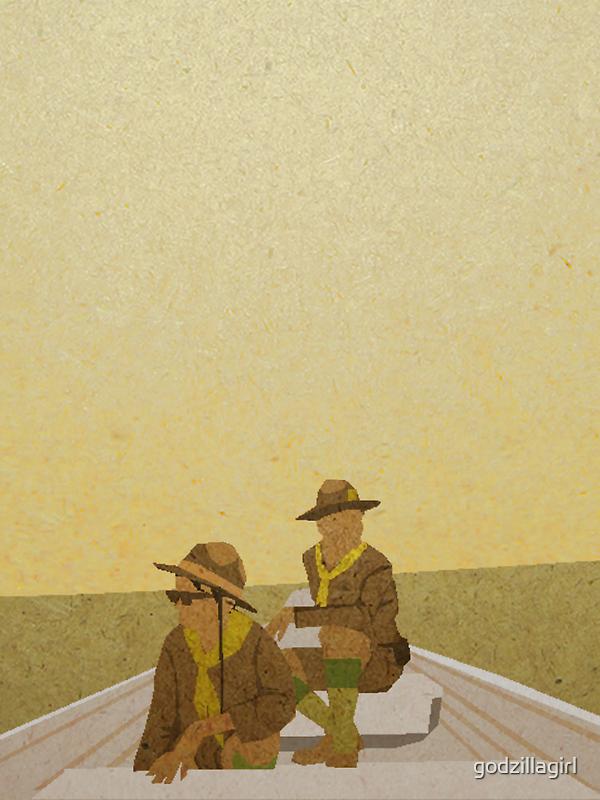 Scout Master Ward + Gadge by godzillagirl
