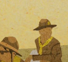 Scout Master Ward + Gadge Sticker