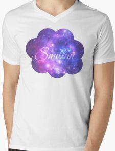 Smillan (Starry Font) Mens V-Neck T-Shirt