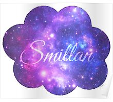 Smillan (Starry Font) Poster
