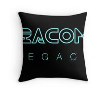 Bacon Legacy Throw Pillow