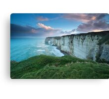 Windy sunrise Canvas Print