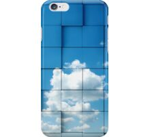 Abstract sky concept iPhone Case/Skin