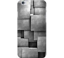 background cement blocks  iPhone Case/Skin