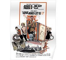 Love and Let Go - Movie poster mash-up Poster