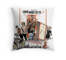 Love and Let Go - Movie poster mash-up Throw Pillow