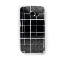 Black tile Samsung Galaxy Case/Skin