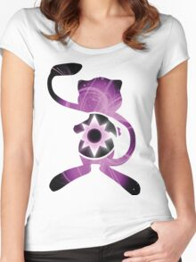 Mew Violet Lantern Women's Fitted Scoop T-Shirt