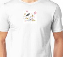 Cat playing with a potato Unisex T-Shirt