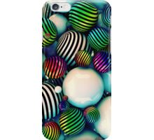 Abstract colored balls iPhone Case/Skin