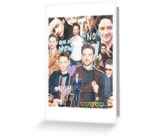 james mcavoy collage Greeting Card