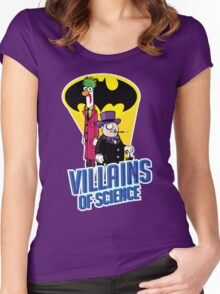 Villains of Science Women's Fitted Scoop T-Shirt