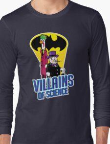 Villains of Science Long Sleeve T-Shirt