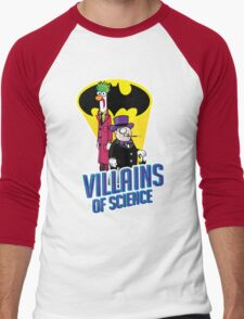 Villains of Science Men's Baseball ¾ T-Shirt