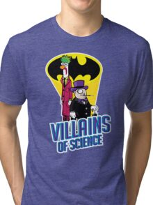Villains of Science Tri-blend T-Shirt