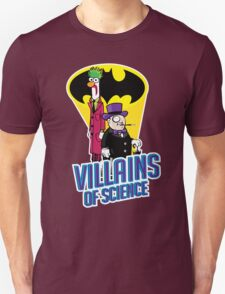 Villains of Science Unisex T-Shirt