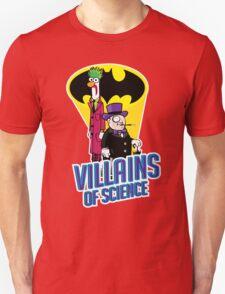 Villains of Science Unisex T-Shirt
