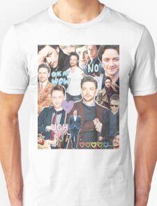 james mcavoy collage T-Shirt
