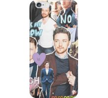 james mcavoy collage iPhone Case/Skin