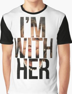 I'm With Her Hillary Clinton 2  Graphic T-Shirt
