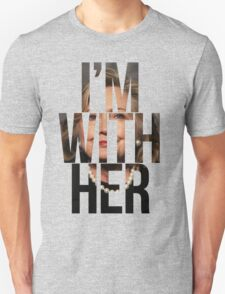 I'm With Her Hillary Clinton 2  Unisex T-Shirt