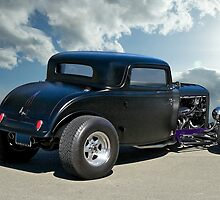 1932 Ford Coupe - Rear View by DaveKoontz