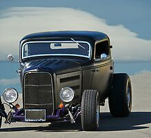 1932 Ford Coupe - Front View by DaveKoontz