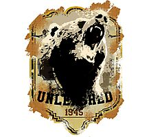 1945 Bear Style Photographic Print